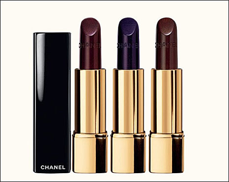 Chanel noirs obscurs collection - Rouge a levre bordeau ...