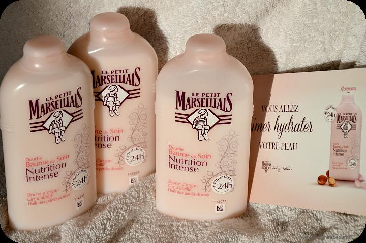 Douche douceur avec le petit marseillais sapphire beauty for Petit bain douche
